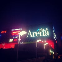 Photo taken at Arena Plaza by Lazar Z. on 3/5/2013