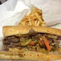 Photo taken at Luke's Italian Beef by Big M. on 5/24/2013