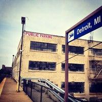 Photo taken at Detroit Amtrak Station (DET) by Артем С. on 6/16/2013