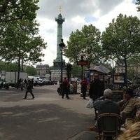 Photo taken at Café Bastille by Klaus M. on 5/17/2013