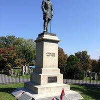 """Photo taken at Thomas """"Stonewall"""" Jackson's Grave by John H. on 10/5/2012"""