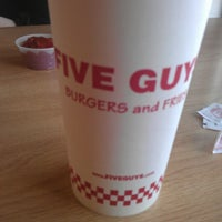 Photo taken at Five Guys by Richard D. on 1/29/2013