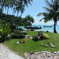 Photo taken at Phi Phi Island Village Beach Resort & Spa by D. Scott K. on 5/27/2013