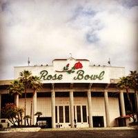 Photo taken at Rose Bowl Stadium by Rodrigo L. on 3/31/2013