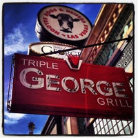 Photo taken at Triple George Grill by Brad K. on 1/8/2013