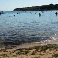 Photo taken at Kırmızı Değirmen Beach by Levent B. on 9/18/2016