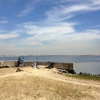 Photo taken at Bayswater Point State Park by Christopher B. on 5/10/2013