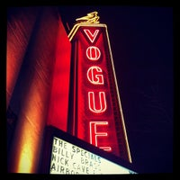 Photo taken at Vogue Theatre by Matte M. on 4/2/2013