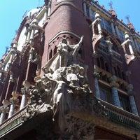 Foto tomada en Palau de la Música Catalana por Сергей У. el 6/2/2013