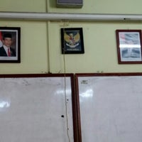 Photo taken at SMA Negeri 5 Bandung by Harkins P. on 6/17/2016