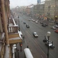 Photo taken at Крыша на Невском by Kate V. on 1/20/2013