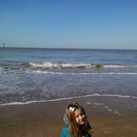 Photo taken at Margate Beach by Lucsia L. on 3/24/2014