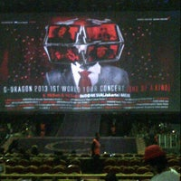 Photo taken at Mata Elang International Stadium (MEIS) by agustinus B. on 6/16/2013