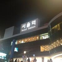 Photo taken at Seoul Station by Matthew J. on 5/30/2013