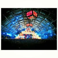 Photo taken at Coachella Sahara Tent by Matthew V. on 4/13/2013