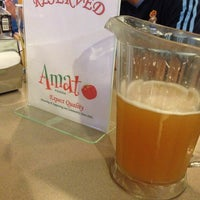 Photo taken at Amato Pizza by Omid L. on 5/23/2014