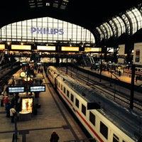 Photo taken at Hamburg Central Station by Fruteryan on 10/4/2013