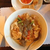 Photo taken at Anong Thai by Ellie P. on 8/15/2013