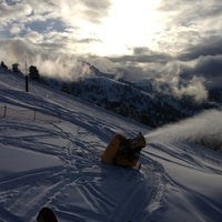 Photo taken at Intermedia Funivia Alpe Cermis by Marek L. on 1/16/2013