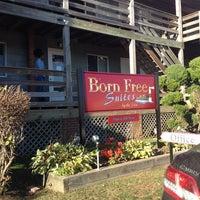 Photo taken at Born Free Motel by Kaya P. on 10/18/2013