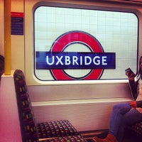 Photo taken at Uxbridge London Underground Station by sinister p. on 5/30/2013