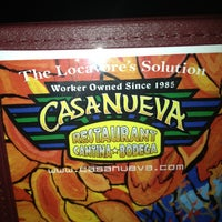 Photo taken at Casa Nueva Restaurant & Cantina by Brian K. on 12/22/2012