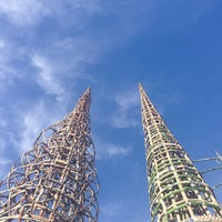 Photo taken at Watts Towers of Simon Rodia State Historic Park by Liz F. on 12/27/2013