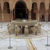 Photo taken at La Alhambra y el Generalife by Alex G. on 2/23/2013