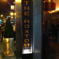 Photo taken at The Hoxton Shoreditch by Michael W. on 11/28/2012