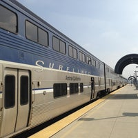 Photo taken at Metrolink Burbank-Bob Hope Airport Station by Chad S. on 3/18/2013