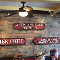 Photo taken at Charlie's Chili by D Z. on 8/3/2015