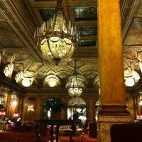 Photo taken at Grand Hotel Plaza by Varvara S. on 3/20/2013