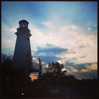 Photo taken at Port Credit Lighthouse by Sergii S. on 7/17/2013