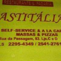 Photo taken at Confeitaria Pastitalia by Emerson S. on 3/7/2013