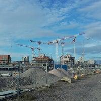 Photo taken at Kalasatama / Fiskehamnen by Ilja P. on 9/25/2016