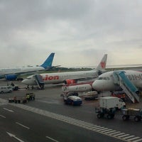 Photo taken at Sultan Aji Muhammad Sulaiman Sepinggan Balikpapan International Airport (BPN) by jimmy w. on 11/24/2012