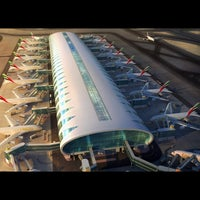 Photo taken at Dubai International Airport (DXB) by JD on 2/16/2013
