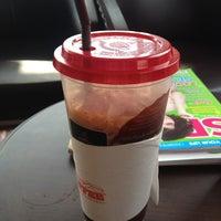 Photo taken at Rabika Coffee / ESSO หนองแขม by Poomy K. on 4/8/2013