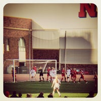 Photo taken at Ed Weir Track & Soccer Stadium by Brett M. on 11/1/2013