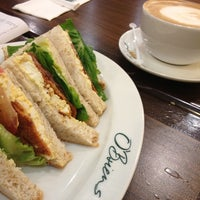 Photo taken at O'Briens Irish Sandwich Cafe by Nazura A. on 11/23/2012