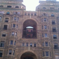 Photo taken at Divine Lorraine Hotel by Bryan F. on 10/15/2011