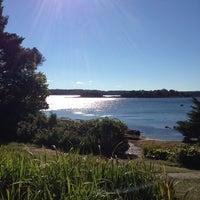 Photo taken at Linekin Bay Resort by Seyhan D. on 9/14/2014