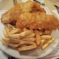 Photo taken at Cockney Kings Fish & Chips Ltd by Natalie C. on 4/2/2013