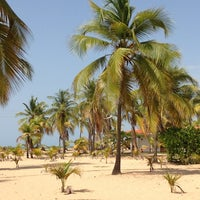 Photo taken at Playa de Boca de Uchire by Aracelis M. on 7/13/2013