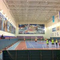 Photo taken at Спортивный Комплекс СЗРЦ МЧС by Stepan on 2/20/2013