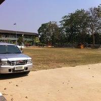 Photo taken at โรงเรียนวัดเขื่อนเพชร by cnoii S. on 2/3/2014