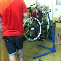 Photo taken at First Bike by Anikó H. on 5/18/2013