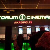Photo taken at Forum Cinemas Akropolis by Kristina P. on 2/16/2013