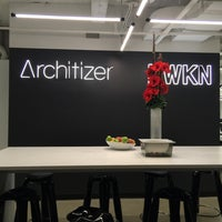 Photo taken at Architizer HQ by joanne w. on 11/25/2015