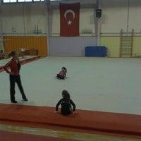 Photo taken at Bornova Stadı by Fulya Z. on 1/21/2013